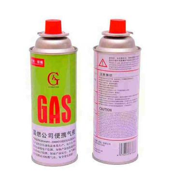 Cleaning Portable Outdoor camping butane gas cartridge for portable gas stove with filled butane gas 400ml 227g