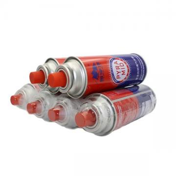 Cleaning Portable Outdoor Round Shape Portable butane gas cartridge can for portable gas stove
