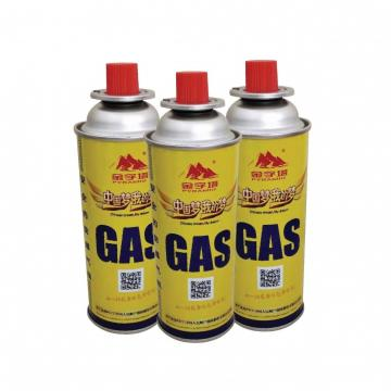 400ml 227g portable camping Portable gas bottle/butane gas/gas stove can 220g 250g