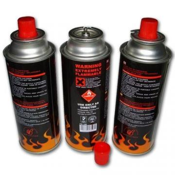 Safety Flame Control Prime butane gas cartridge and butane gas canister