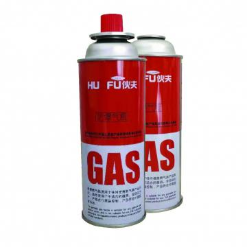 220g butane gas cartridge can canister cylinder with Valve and Cap
