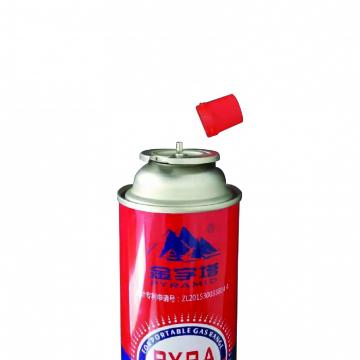 Empty Aerosol Tin Can Metal Tin Can Butane Gas Can Manufacturer refillable 220g-250g