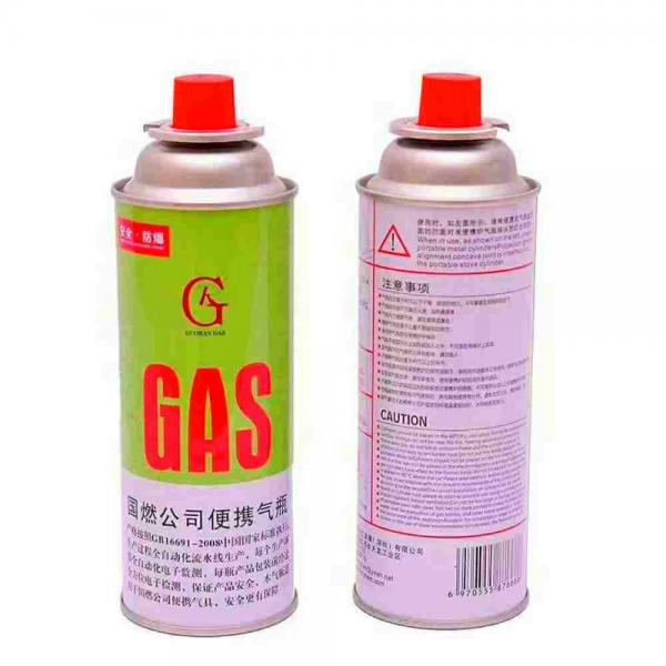 Accessories Hiking Equipment Disposable butane gas canister for portable stove