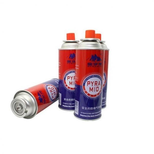 Butane/ propane fuel gas canister for single burner stove can cylinder, 220g